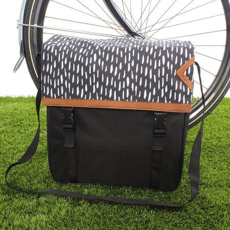 Fastrider Enkele fietstas Shopper Nara 17L Zwart