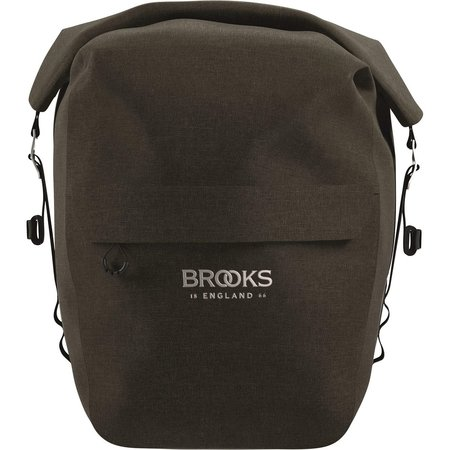 Brooks England Enkele fietstas Scape L Mud Green - 18-22L