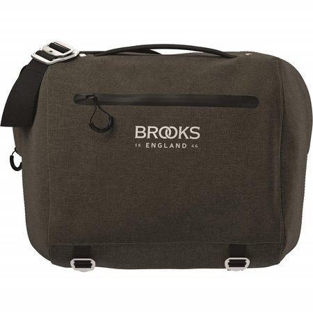 Brooks England Stuurtas Scape Compact Mud Green - 10-12L