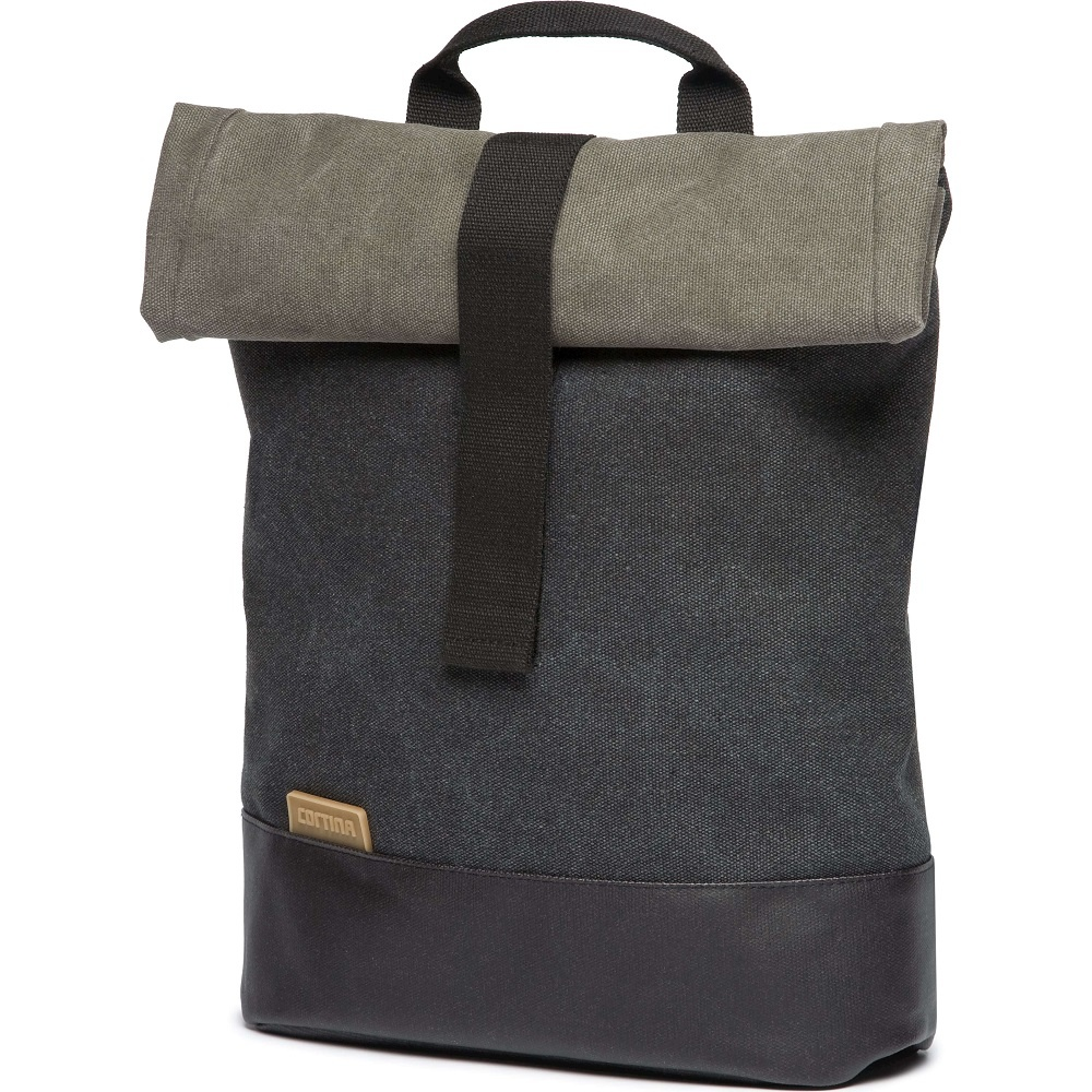 Denim Backpack Memphis M 9L Antraciet