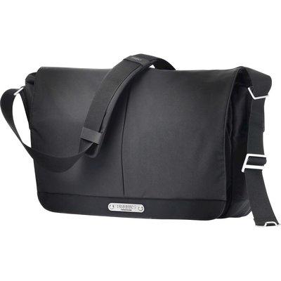 Brooks England Strand Messenger Bag Black 15L