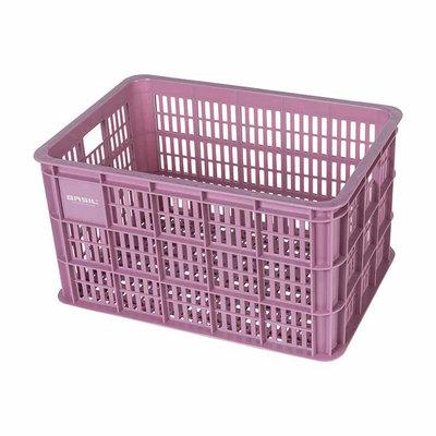 Basil Fietskrat Crate 50L Faded blossom MIK/RT