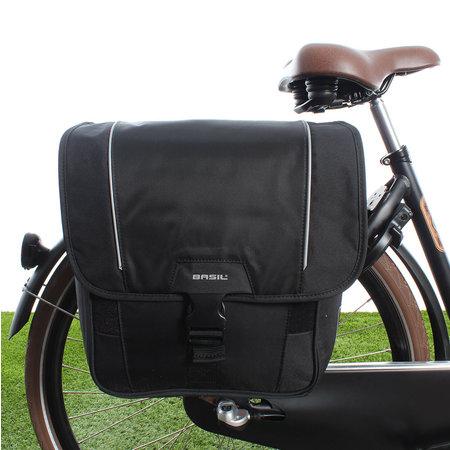 Basil Dubbele Fietstas Sport Design MIK - 32L Zwart
