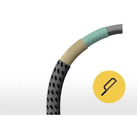 Tex-Lock Kabelslot Textielslot Eyelet Zwart L U-Lock