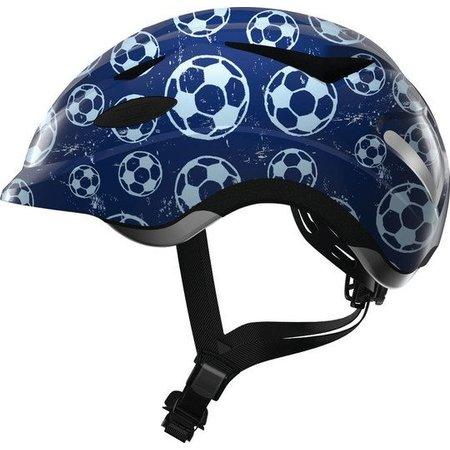 ABUS Kinderhelm Anuky Blue Soccer S