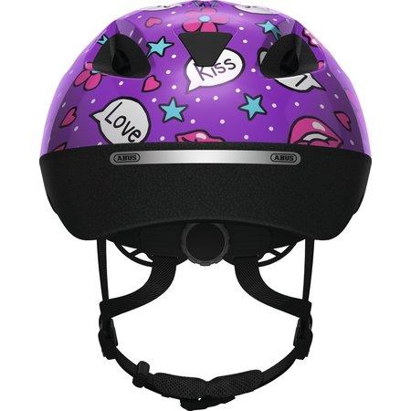 ABUS Kinderhelm Smooty 2.0 Purple Kisses S