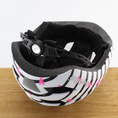 Bobike Kinderhelm Plus S Pinky Zebra