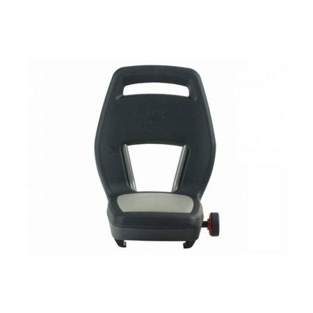 Qibbel 6+ Junior Seat  - Zwart/Grijs