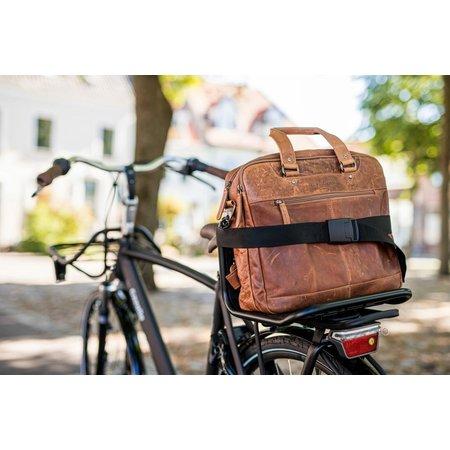 Steco Commuter-Mee  Matzwart - Bagagedragerverbreder
