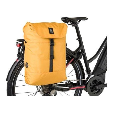 AGU Enkele fietstas Urban Essentials DWR 18L Blauwgroen - waterafstotend