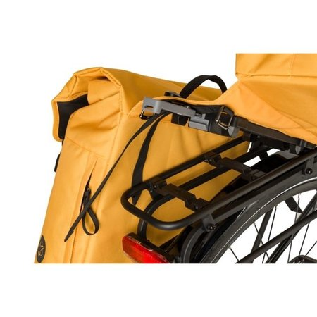 AGU Dubbele fietstas Urban Essentials DWR 36L Blauwgroen- waterafstotend