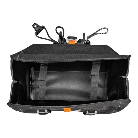 Ortlieb Handlebar-Pack QR Matzwart 11L - Met Bar-Lock bevestiging