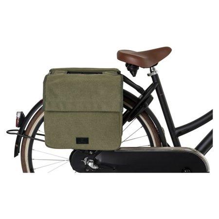 Fastrider Dubbele fietstas Celo Kids 24L Groen - Kinderfietstas
