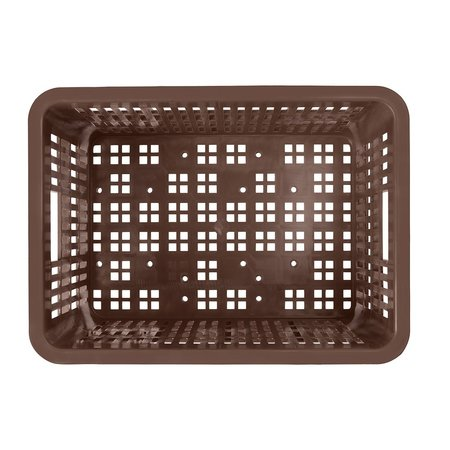 Basil Fietskrat Crate S 17,5L Chocolate Brown voor MIK/Racktime