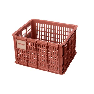 Basil Fietskrat Crate M 27L Terra Red MIK/RT