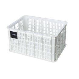 Basil Fietskrat Crate L 40L Bright White MIK/RT