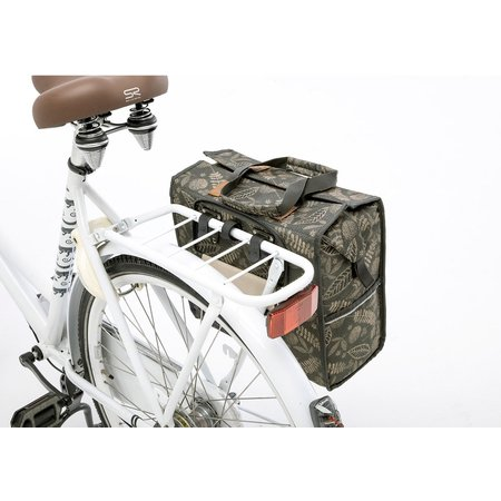 New Looxs Enkele fietstas Lilly Forest Anthracite 18L