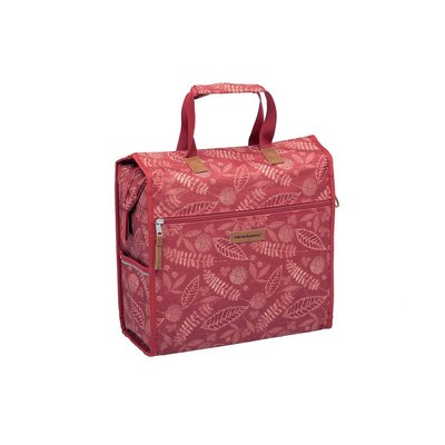 New Looxs Enkele fietstas Lilly Forest Red 18L