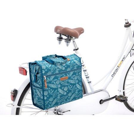 New Looxs Enkele fietstas Lilly Forest Blue 18L