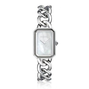 Chanel Premiere Mother of Pearl Dial Stainless Steel Ladies Watch (H3251)