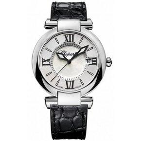 Chopard Imperiale 36mm Horloge Staal Zilver, Parelmoer / Crocoleder (388532-3001)