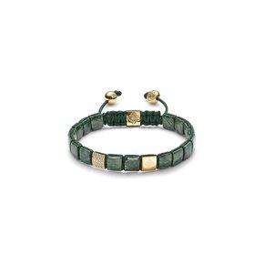 Shamballa Forest Green Armband