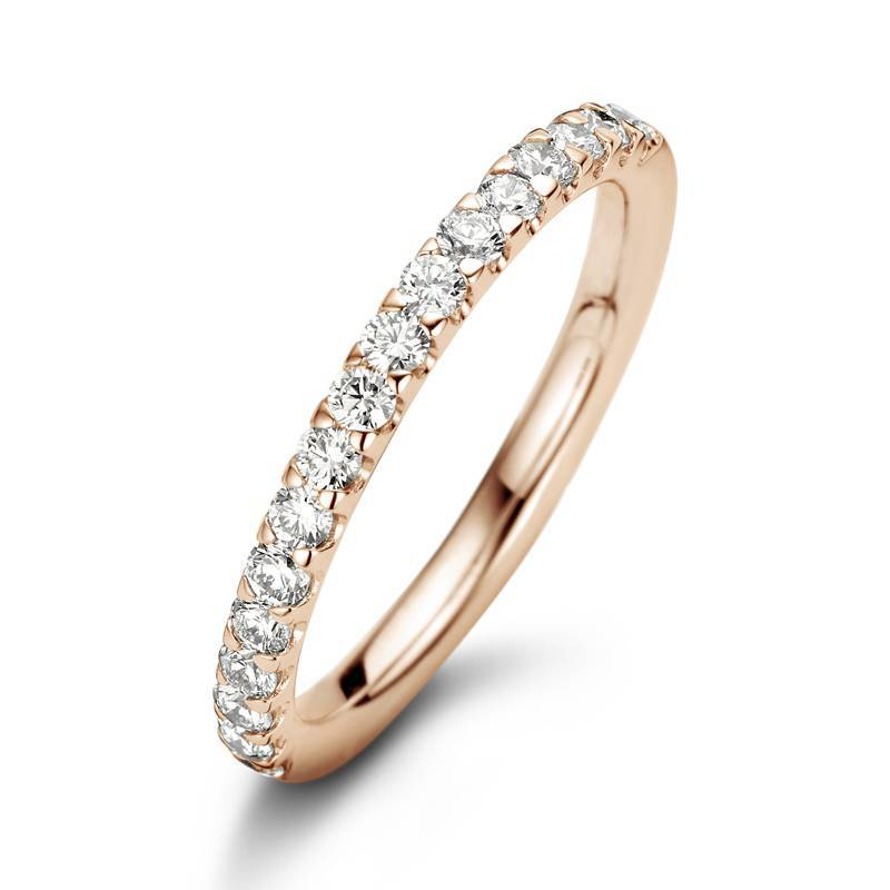 Noor Rose- en Witgouden 18 Krt. Alliance Ring