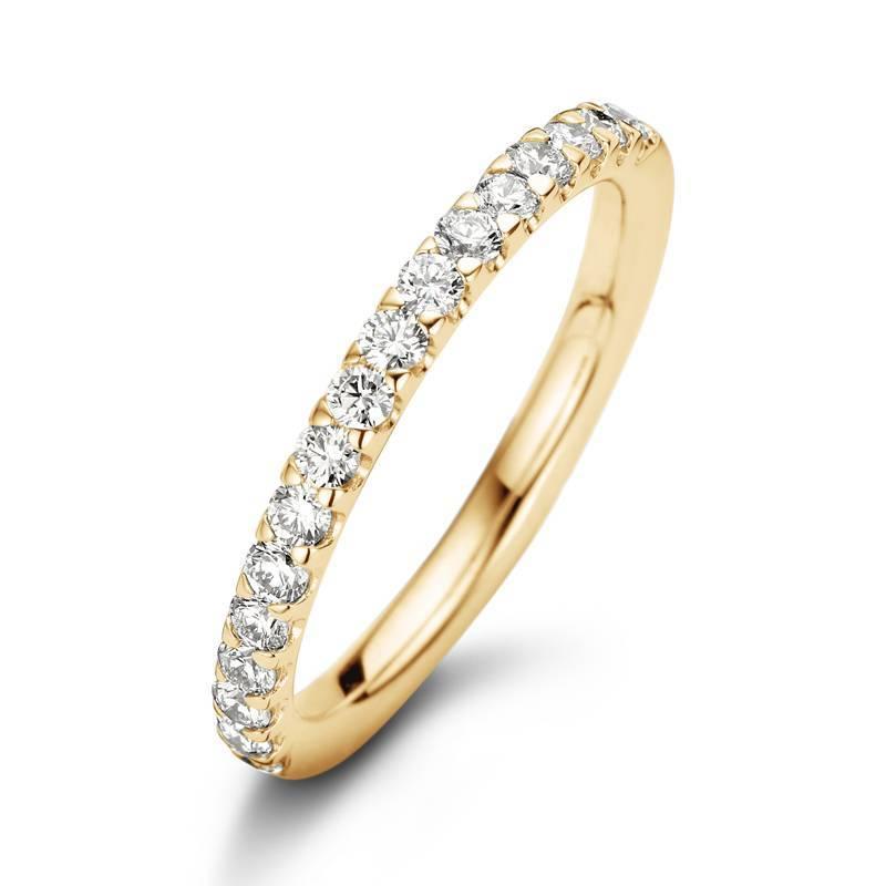 Noor Geelgouden 18 Krt. Alliance Ring