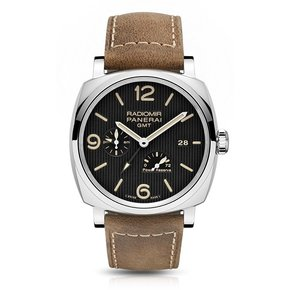 Officine Panerai Radiomir 1940 3 DAYS GMT Power Reserve Automatic Acciaio
