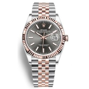 Rolex Datejust 36 Steel and Everose Gold