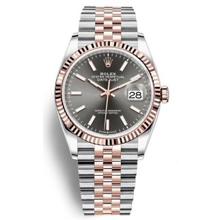 Datejust 36 Steel and Everose Gold