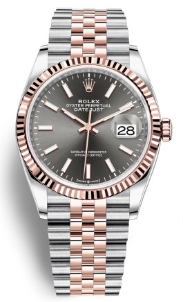 Rolex Datejust 36 Steel and Everose Gold (126231)
