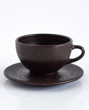 2 x Latte Cup with Saucers
