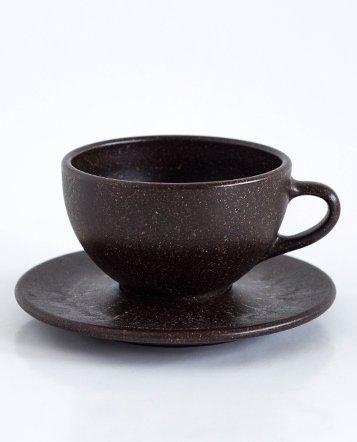 6 x Milchkaffee Tassen und Untertassen