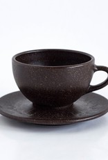 8 x Latte Cups with Saucers