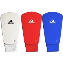 Shin protector Microlight White / Blue / Red