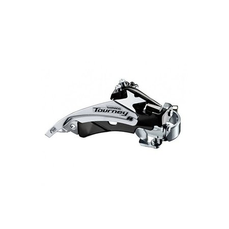 SHIMANO Voorderailleur Shimano Tourney FD-TY510 - 6/7V - Top Swing - Dual Pull - 66-69°