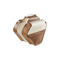 Double Pannier Leather Fashion (Cognac / Cream)