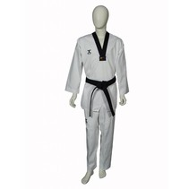 Taekwondo suit Club Black Lapel