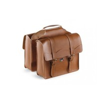 Double Pannier 'City' Skai-Leather (Cognac)