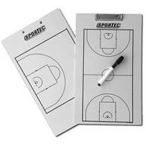 Light coachbord + clip basketbal