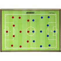 Magnetic Coachboard Football