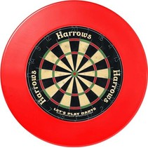 Dartbord Surround rood
