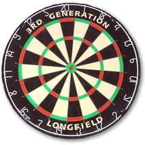3rd generation dartboard