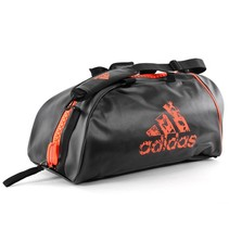 2 in 1 Sports bag Black / Orange
