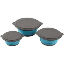 Foldable bowl set