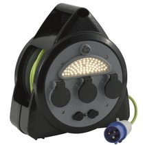 Outwell cable reel with USB and LED