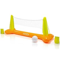 Inflatable volleyball net
