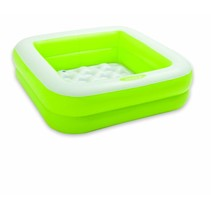 Square baby pool Green