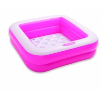 Square baby pool pink